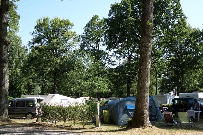 Les Terrasses Bois Guillaume - Le Bois Guillaume, campingà Villeneuve les Gen u00eats en Bourgogne
