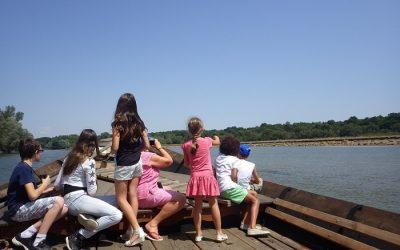 A bord d'une Gabare de Loire