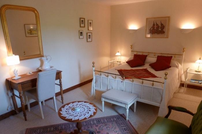 Chambre Château de la Fontaine-Madame