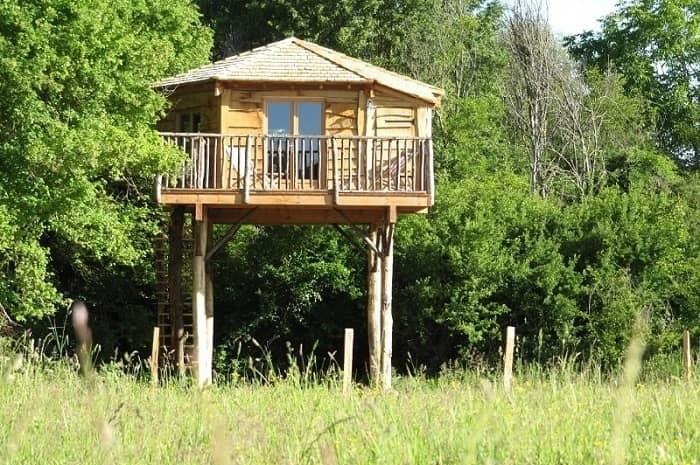 Family Ecolodge cabane sur pilotis dans le Loiret