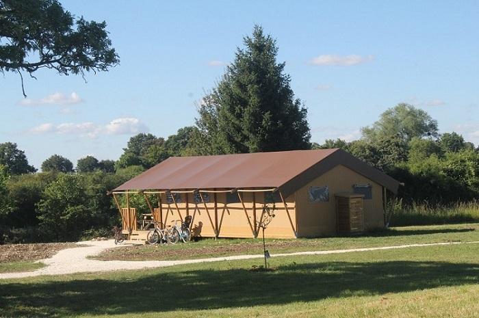 Family Ecolodge safari et tente lodge en Bourgogne