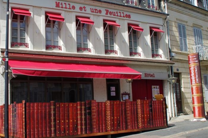 Hotel Le Mille et une feuilles à la Charité sur Loire, Nièvre en Bourgogne