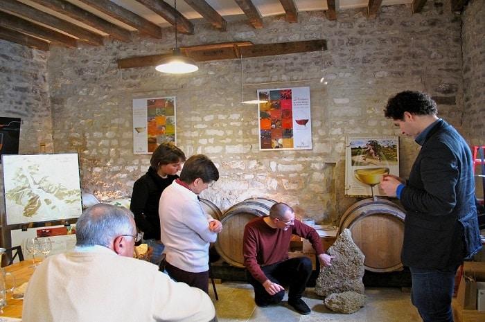 Visite guidée, Au Coeur du Vin, Bourgogne Franche-Comté, Chichée, Yonne