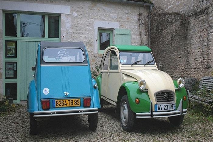2CV, Au Coeur du Vin, Bourgogne Franche-Comté, Chichée, Yonne