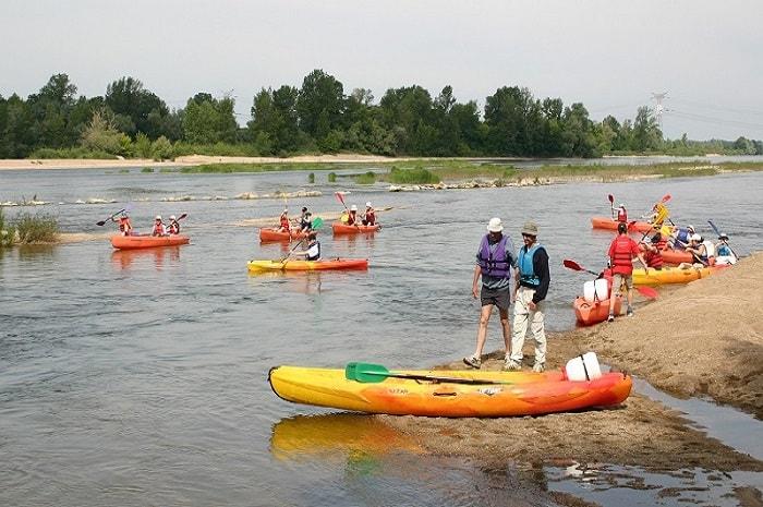 Base de Beaulieu, Canoë / Kayak, Bourgogne Franche-Comté, Beaulieu-sur-Loire, Loiret