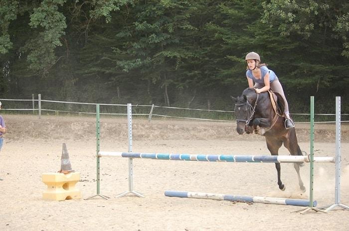 Saut à cheval, Centre équestre de Toucy, Bourgogne Franche-Comté, Toucy, Yonne