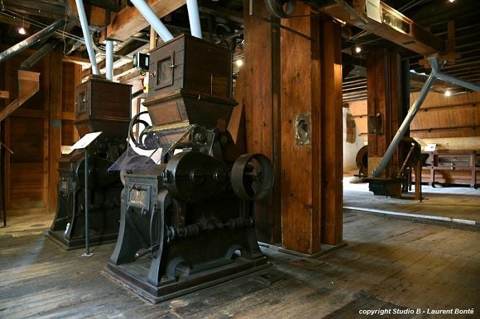 Machine du moulin de Maupertuis, Bourgogne Franche-Comte, Nièvre