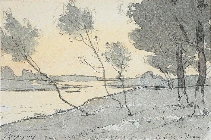Oeuvre d'art au musée de la Loire, Bourgogne Franche-Comté, Cosne-sur-loire, Nièvre