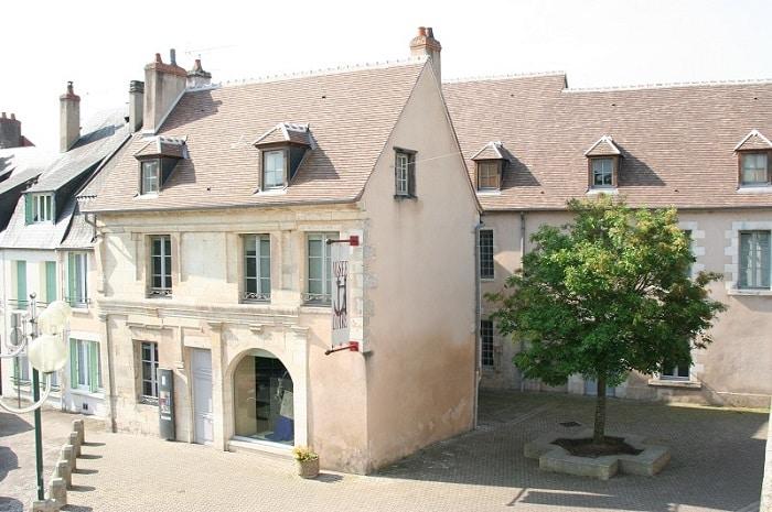 Façade du musée de la Loire, Bourgogne Franche-Comté,  Cosne-sur-Loire, Nièvre