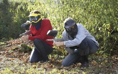 Paintball au Bois de la Folie