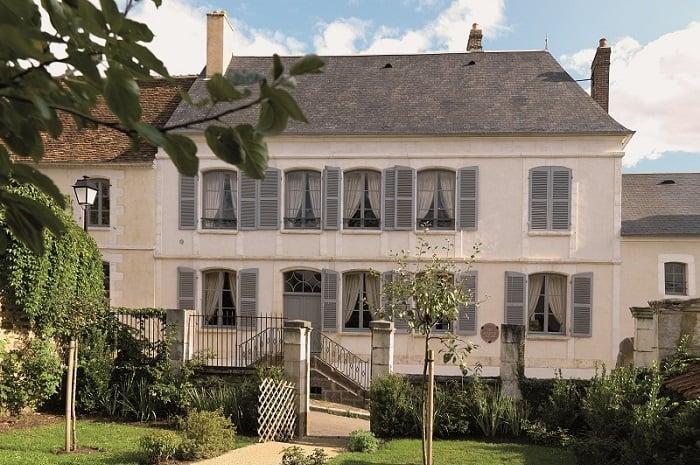 Façade de la Maison de Colette, Bourgogne Franche-Comté, Saint-Sauveur-en-Puisaye, Yonne