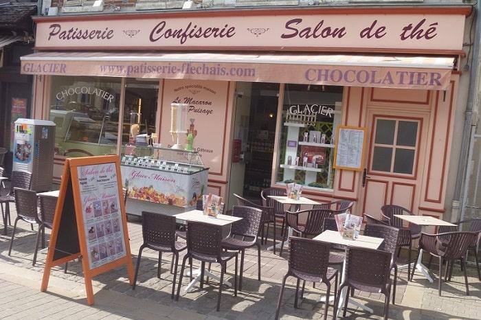 Patisserie Fléchais, Bourgogne Franche-Comté, Saint-Fargeau, Yonne