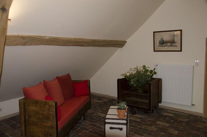 Chambres d'hôtes Le Moulin de Corneil côté salon