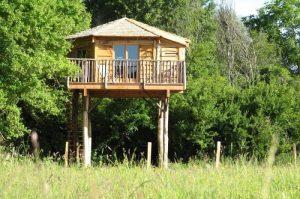 Family Ecolodge, cabane perchée Loiret, Centre Val de Loire