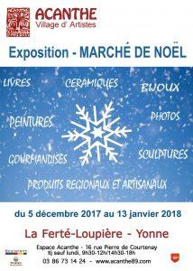 Marché de Noël à la Ferté Loupière @ Acanthe Village d'Artiste | La Ferté-Loupière | Bourgogne Franche-Comté | France