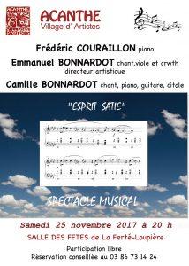 Concert à La Ferté Loupière @ Salle des fêtes de la Ferté Loupière | La Ferté-Loupière | Bourgogne Franche-Comté | France