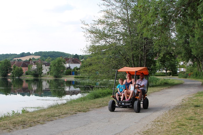 Rosalie dans la Village vacances la vallée de l'Yonne en Bourgogne