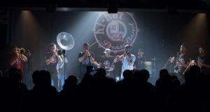 Doven et le HI-HAT BRASS BAND Voodoo Story @ Chateau de Ratilly