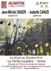 Exposition Isabelle CANUS, Sculpteur @ Grange du Prieuré