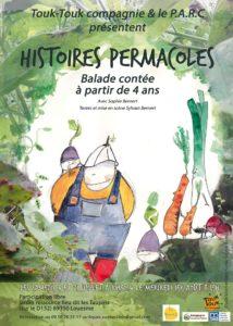 Histoires permacoles @ Jardin ressource, Lieu-dit Les Taupins