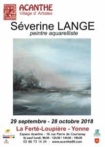 Exposition Séverine Lange, Peintre @ Espace Acanthe