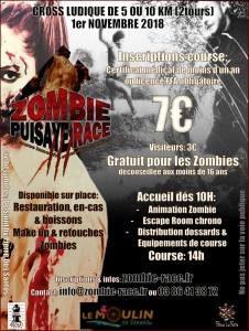 Zombie Puisaye Race @ Moulin de Vanneau