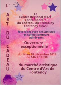 L'Art du Cadeau - marché artistique au CRAC @ Centre régional d'art contemporain