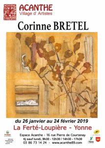 Exposition Corinne Bretel à l'Espace Acanthe @ Acanthe Village d'Artistes