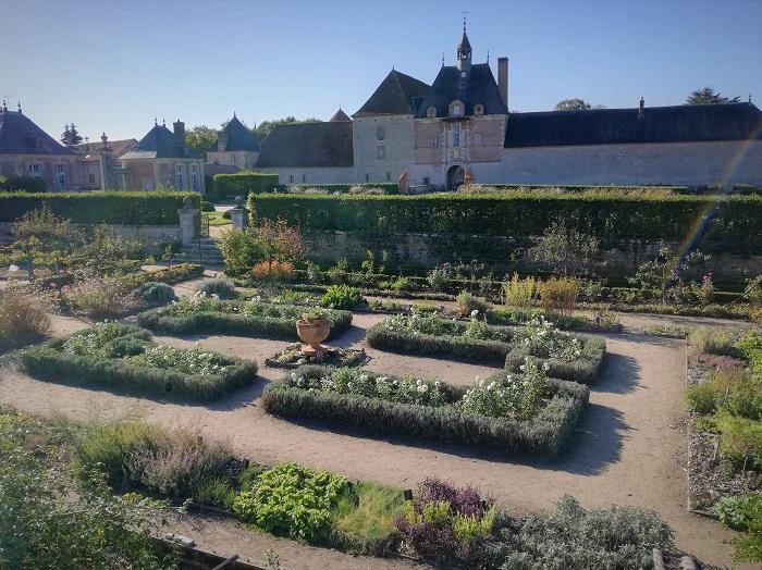 Château de la Bussière - potager