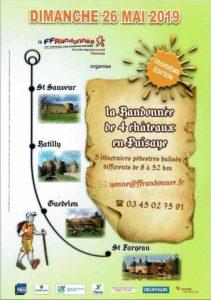 Randonnée des 4 châteaux en Puisaye