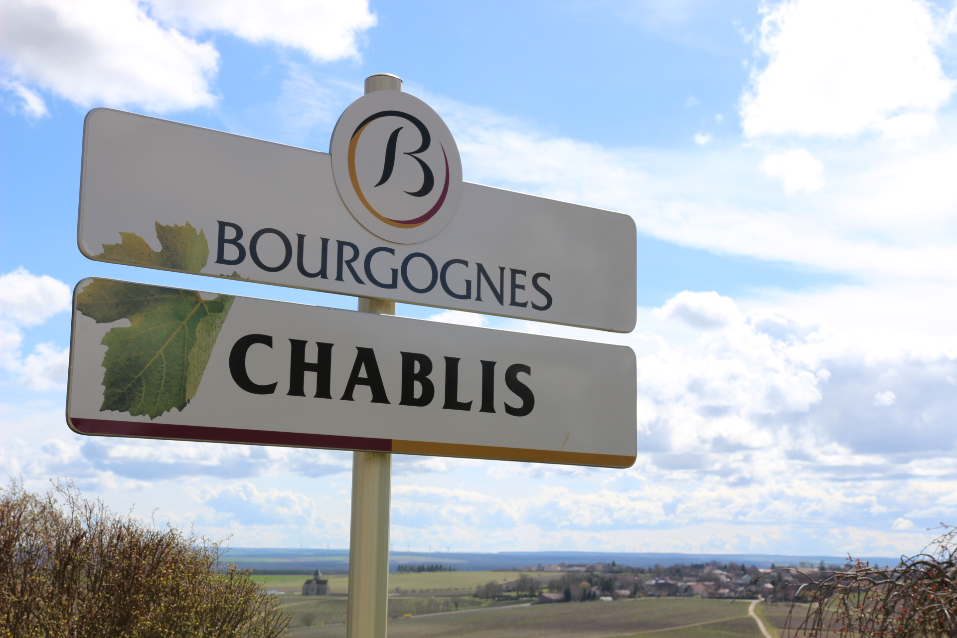 Chablis sign