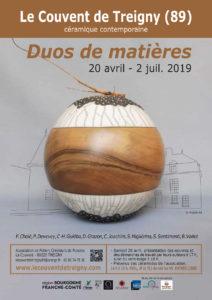 """""""Duos de matières"""" au Couvent de Treigny @ Le Couvent de Treigny"""