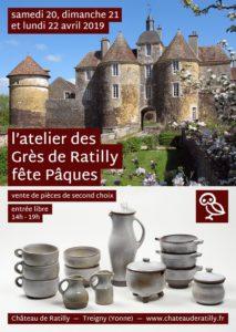 L'atelier des Grès de Ratilly fête Pâques @ Château de Ratilly