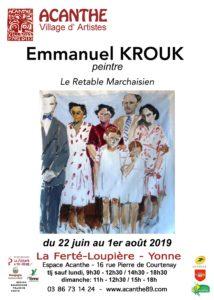 Exposition à la Grange du Prieuré de la Ferté Loupière @ Grange du Prieuré