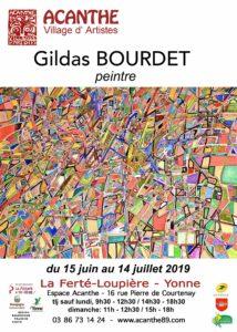 Exposition Gildas BOURDET à l'Espace Acanthe @ Galerie Espace Acanthe