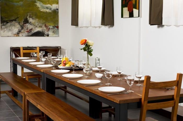 gîte zao salle à manger