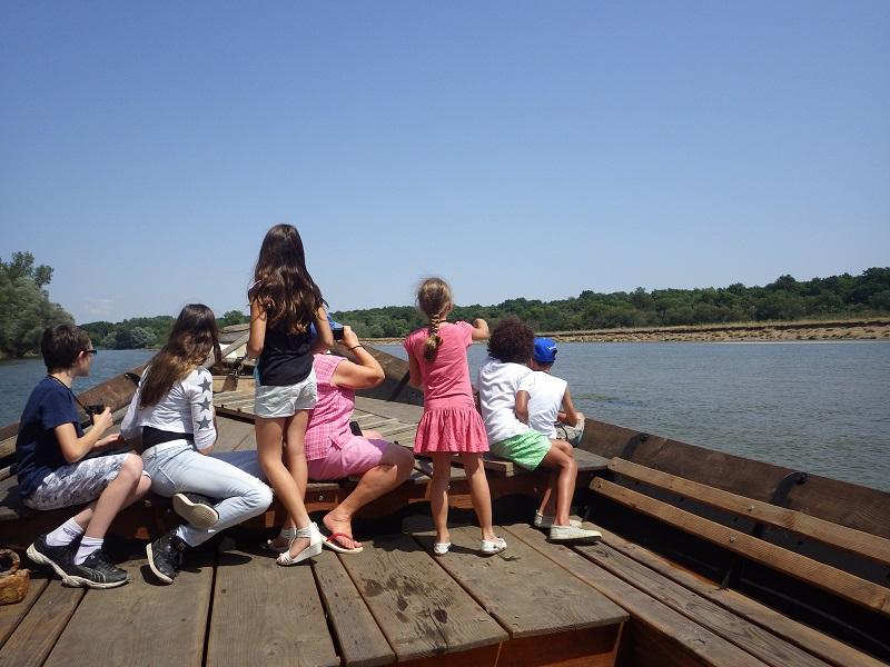 Balade en bateau sur La Loire avec la Maison de Loire du Cher