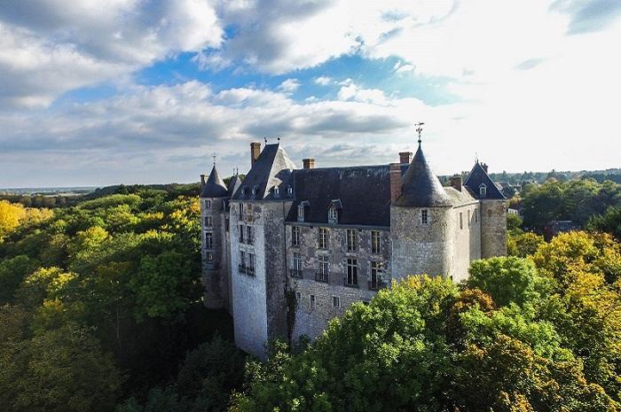 Château de Saint-Brisson sur Loire